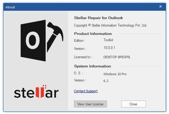 Use Stellar Repair For Outlook