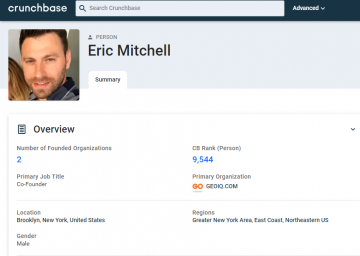 Eric Porat's Profile on Crunchbase