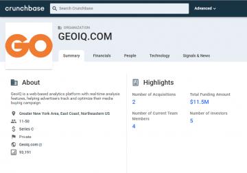 GeoIQ profile on Crunchbase