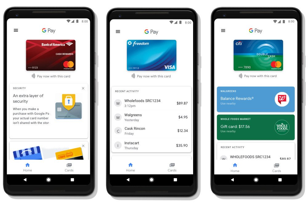 Android Mobile Wallet