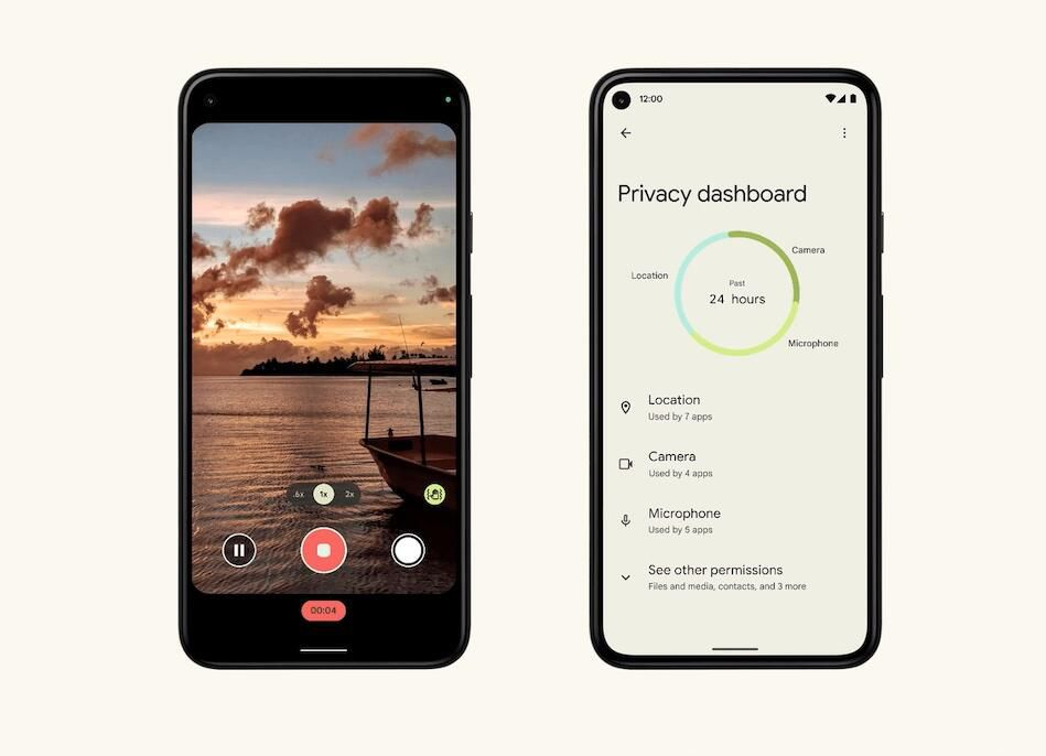 Android Privacy Dashboard