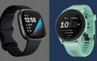 Fitbit And Garmin
